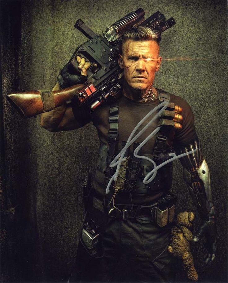 Josh Brolin Deadpool 2 Signed 8x10 Photo Certified