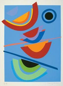 Blue-circle - Sir Terry Frost