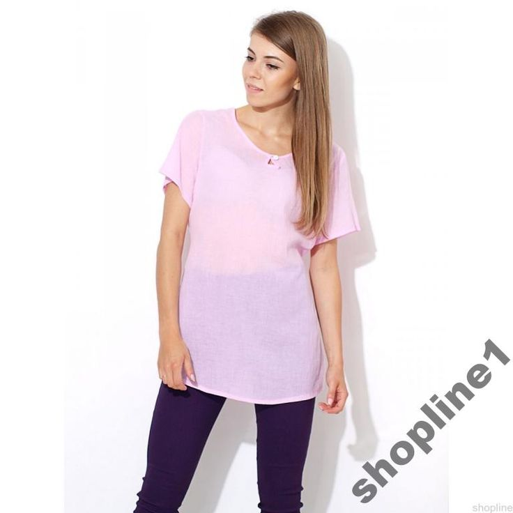 Damska pastelowa bluzka klasyczna