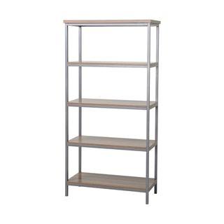 Homestar 4-shelf Bookcase - 17841778 - Overstock - Top Rated Book Racks - Mobile