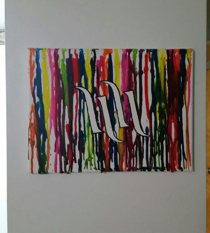 Crayon Art #hartandhuntington #logo #crayola #art#crayola #craft