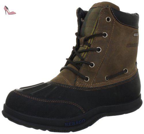 Campsides Mid, Chaussures à lacets homme - Bleu - Blau (NAVY SUEDE), 43 EU (09.0 US)Sebago