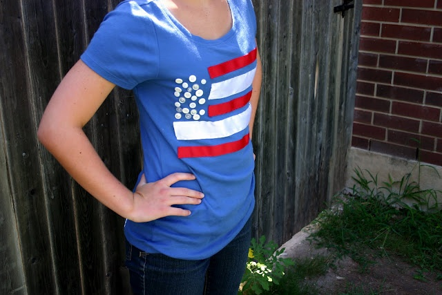 Tales of a Trophy Wife: Patriotic T-shirt
