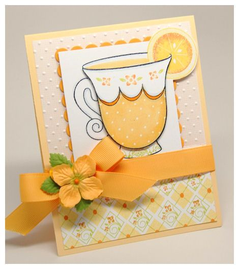 26 Best Images About Cardmaking - Summer, Get Well, Graduation On Pinterest
