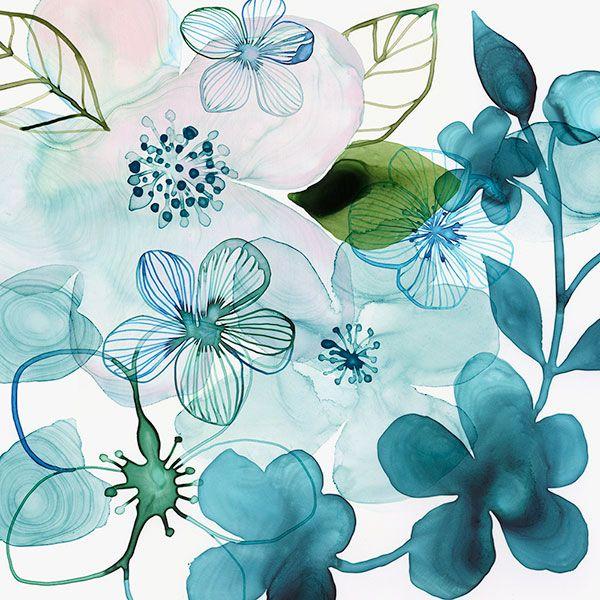 Margaret Berg Art: Water Blossoms III