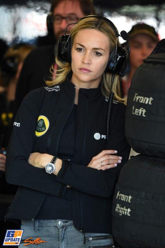 Carmen Jorda, Lotus, 2015 Australian Formula 1 Grand Prix, Formula 1