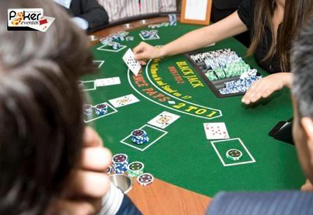 Evento casino empresa mesa blackjack