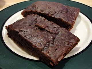 Ingredients:  • 1 box of Duncan Hines Milk Chocolate Family Size Brownie Mix  • 15.5 oz. can of black beans  • water