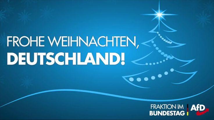 Weihnachtswünsche für Deutschland - AfD-Fraktion im Bundestag