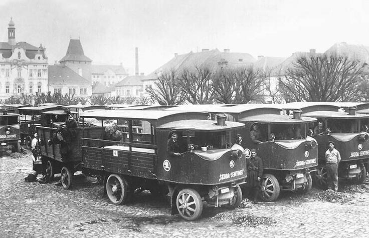 Steam powered trucks