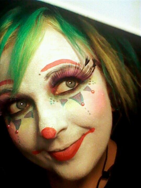cute clown faces - 540×720