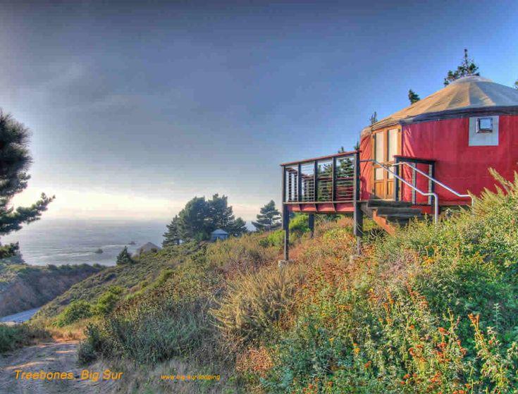 Yurt tent Big Sur