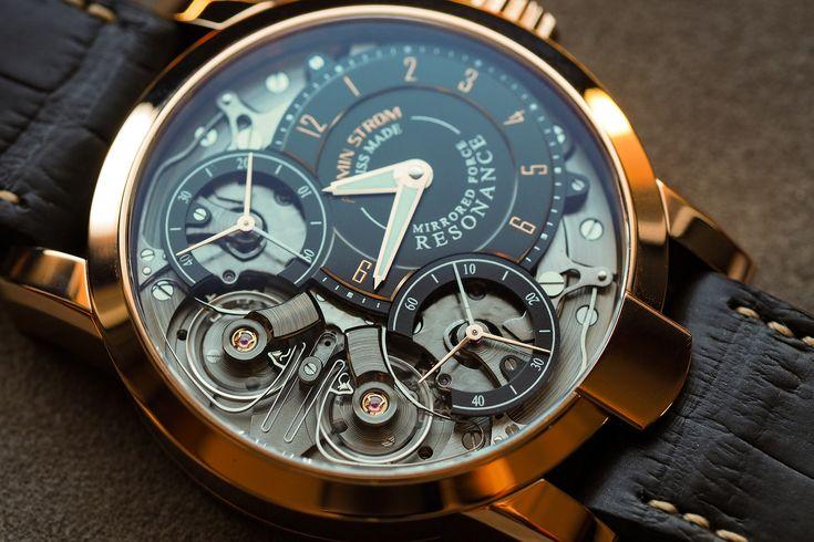 Armin Strom Mirrored Force Resonance Fire seconds subdials