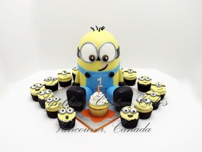 I want a minion party for my birthday. 28 is a big deal. LOL I loved everything. You did so well. We never go that far out for parties. Mainly just the cake.