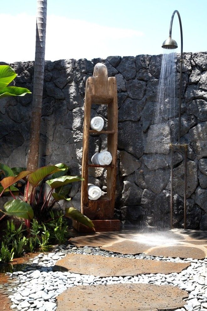 An outdoor shower can be a 'cool' addition to yourbackyard decorating, at the same time lets you enjoy a cool down this summer. From rustic outside showers, easyDIY palletoutdoor showers to contemporary luxury showers, there are plenty of creative outdoor shower examples you will find here. 1   Source:hgtv.sndimg.com 2   Source:flickr.com 3  Source:apartmenttherapy.com 4  …