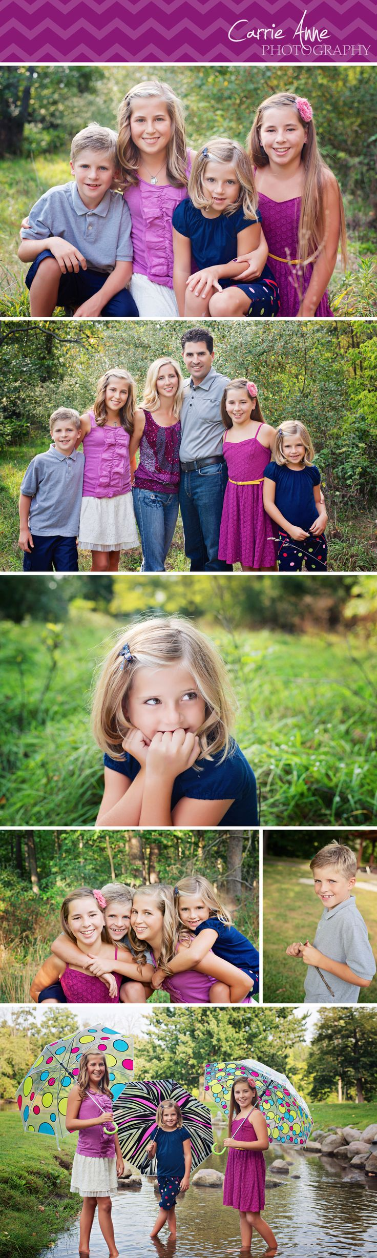 Carrie Anne Photography-family summer session