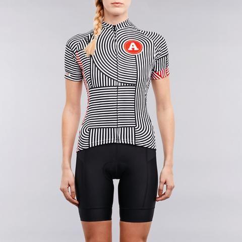 Twin six womens cycling jersey - artcrank