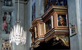 Santa Maria in Gradi в Ареццо - Поиск в Google Arezzo - S Maria in Gradi - Cantoria
