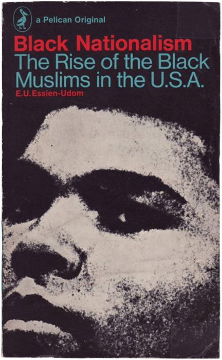 Black Nationalism by E.U. Essien-Udem. Cover design by Richard Hollis using a Camera Press photo of Muhammad Ali.