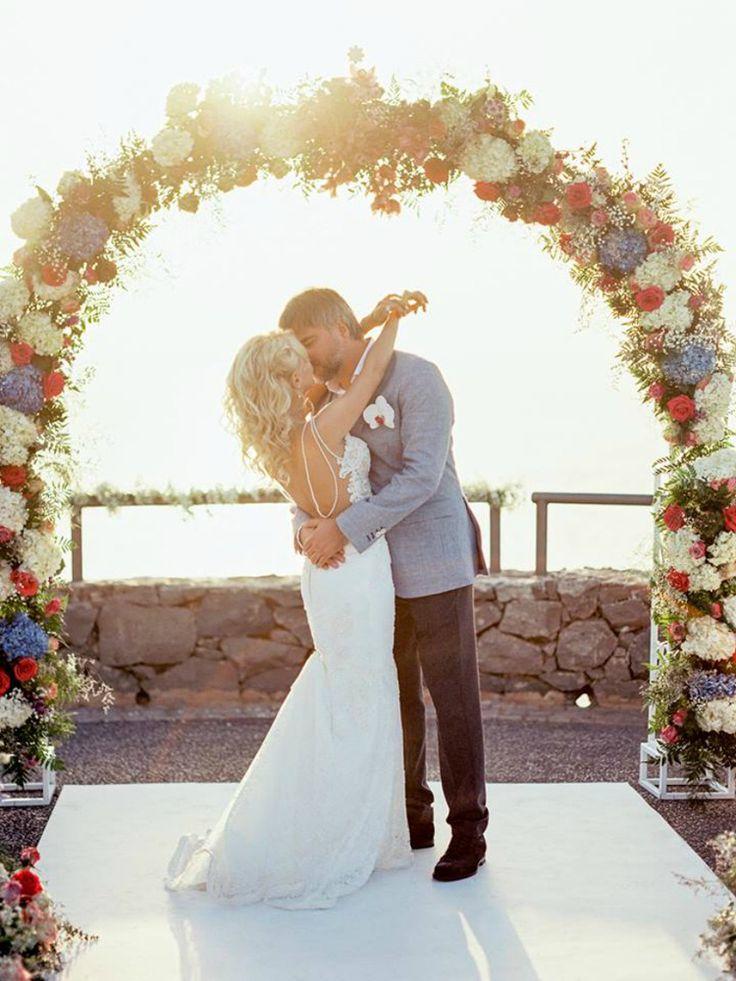 Modern and romantic ocean view wedding ceremony at The Ritz-Carlton, Abama in Spain (Kseniya Bunets)