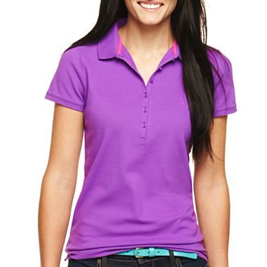 19 best images about work clothes on pinterest v neck for Jcpenney ladies polo shirts