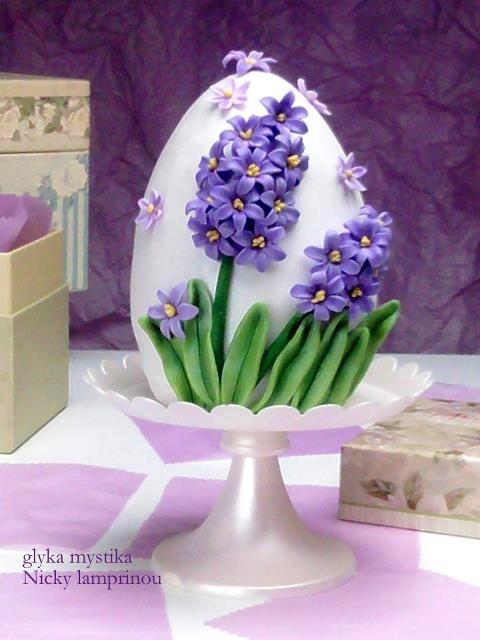 Easter egg  Sugar flowers Creations: Καλό Πάσχα