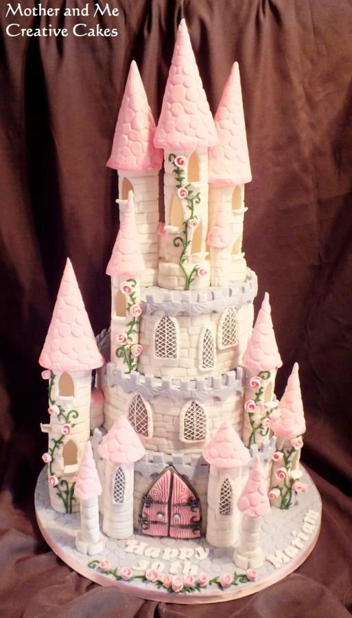 Fairytale Castle Cake https://www.facebook.com/pages/Mother-Me/227714550658081