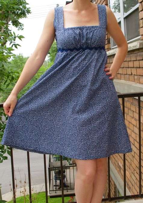Empire Waist Summer Dress