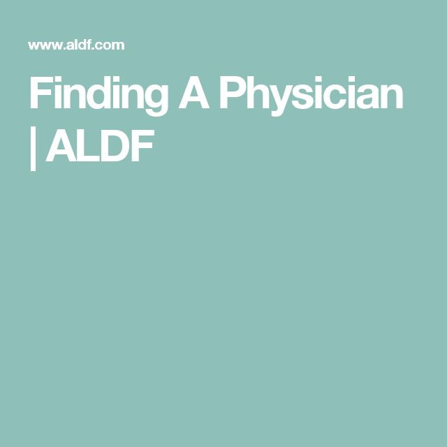 Finding A Physician | ALDF