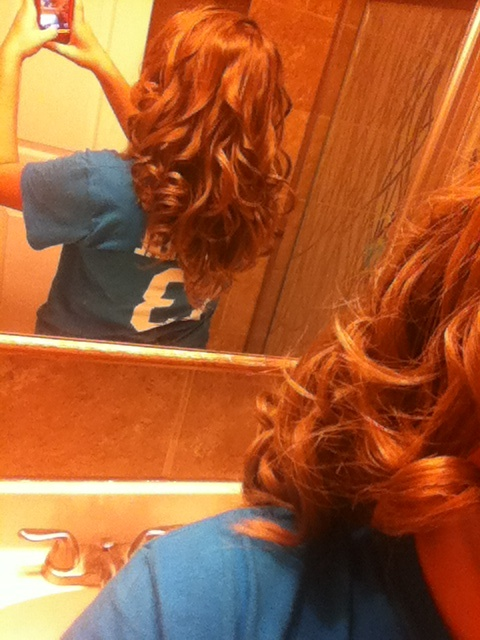 Hair Curled With Straightener | newhairstylesformen2014.com
