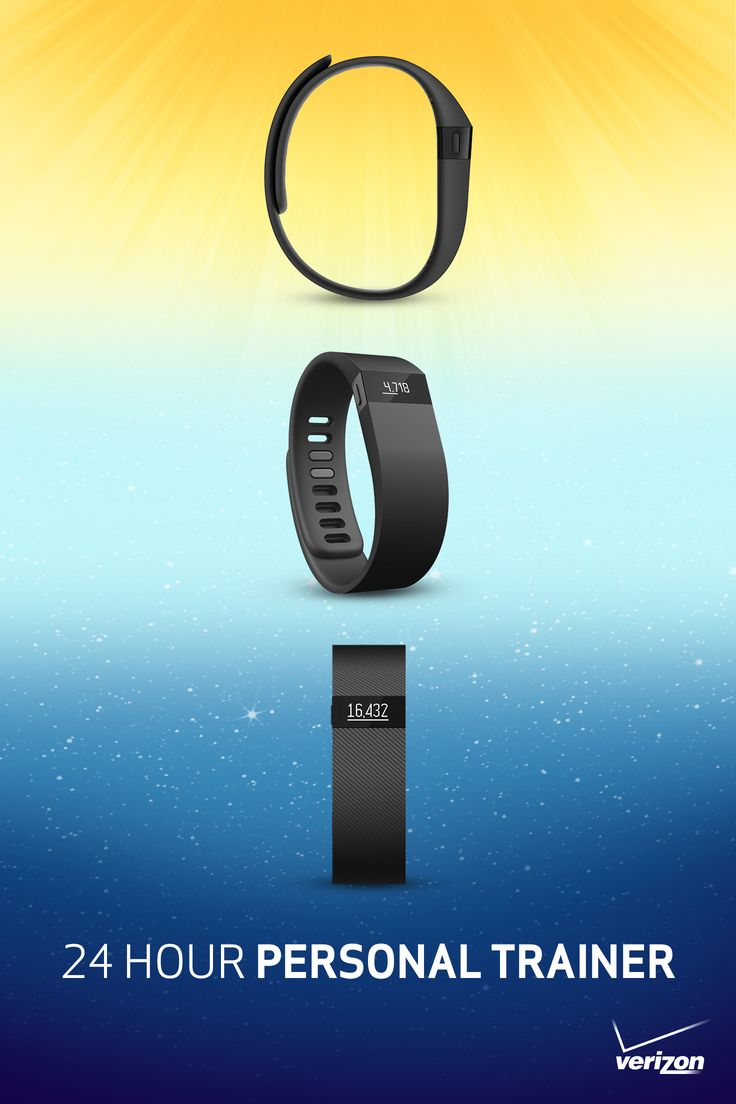 Get a personal trainer who is with you morning, noon and night.  The Fitbit Charge tracks your steps taken, distance traveled, calories burned and sleep cycles to give you a snapshot of your life. Whether you're changing your diet or trying a new workout, running routine, yoga class, or weight lifting challenge, it keeps track of all your progress and helps you achieve your fitness and lifestyle goals.