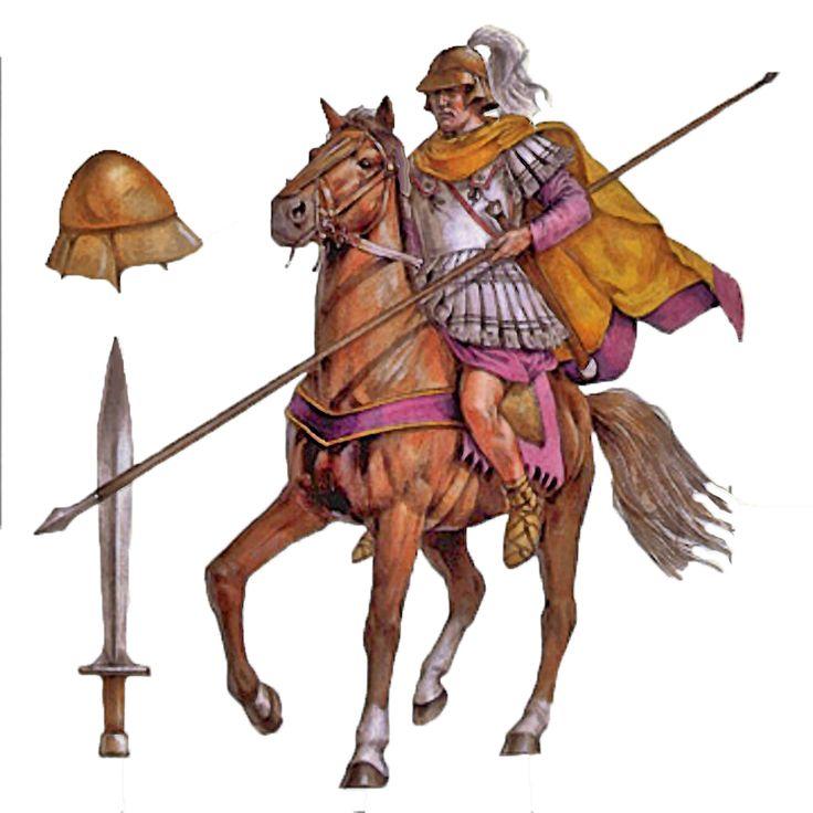 Alexander's Macedonian Companion cavalry