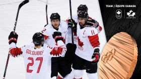 Team Canada has won a medal in men's ice hockey for a third straight Olympic Winter Games. Canada defeated the...