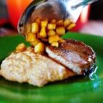 Oh my word ...maple apple pork chops and creamy bacon grits by the Pioneer Women..yes please!!!!