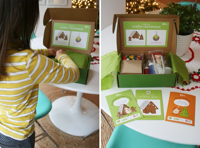 kiwi crate - crafty christmas via seejaneblog @vivint  #letsneighbor. nicole c.