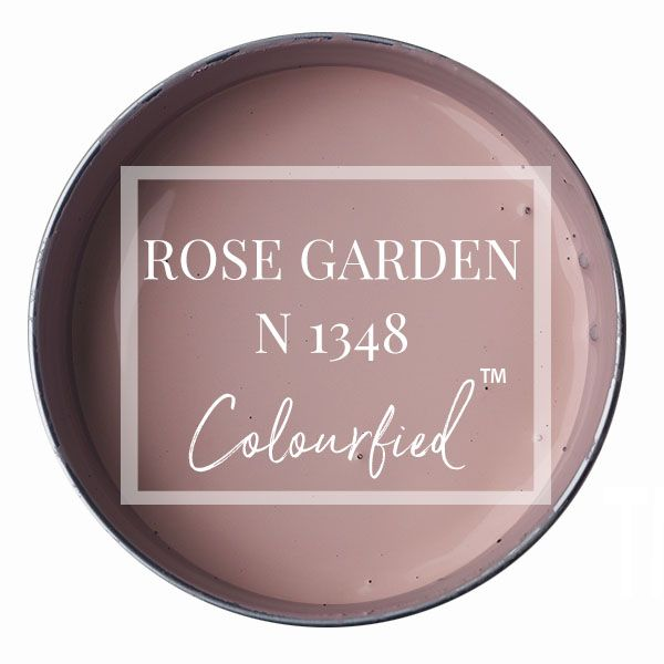 Colourfied's new colour - Rose Garden