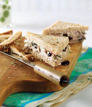 No-Crust Chicken Salad Sandwiches