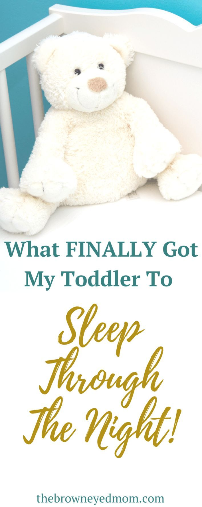 Sleep training is difficult. Especially when you wait until your baby is already a toddler! #sleeptraining