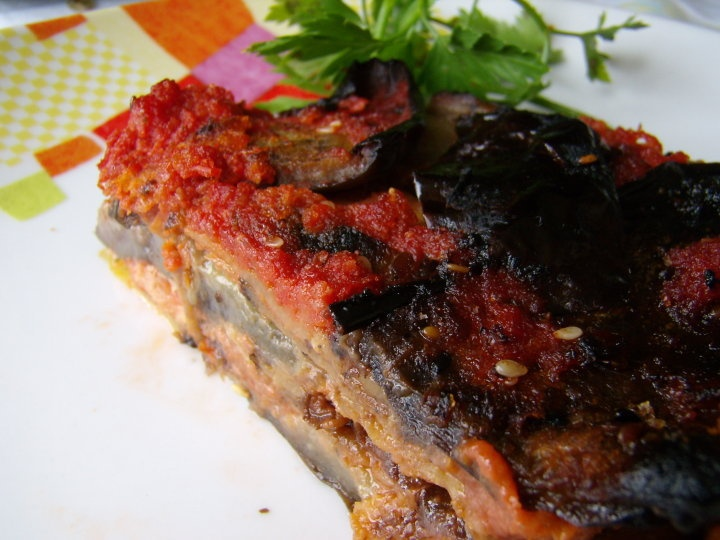 ... parmigiana (Eggplant parmesan) - another heavenly Italian classic