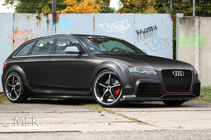 The only wagon I could see myself driving..the Audi Wagon