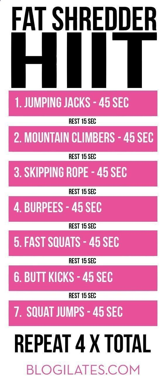 HIIT CARDIO workout | Workouts and Meals | Pop pilates ...