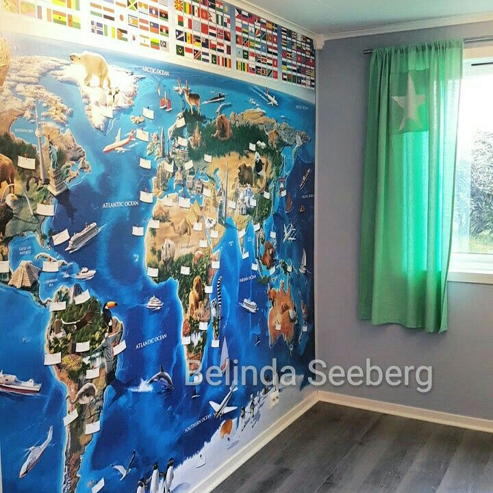 world map walpaper
