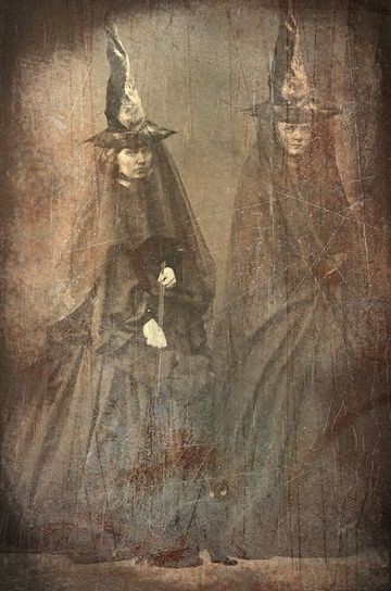 Creepy Victorian altered photo by Kelloween.