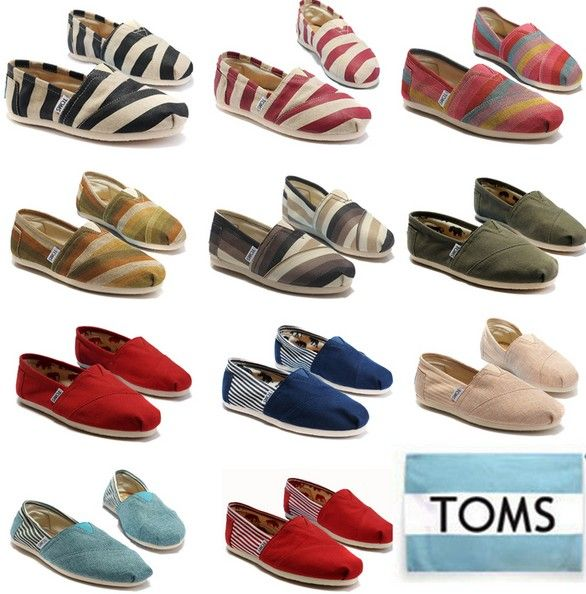 You won't be regret to buy! / Toms Shoes OUTLET with 75% discount off