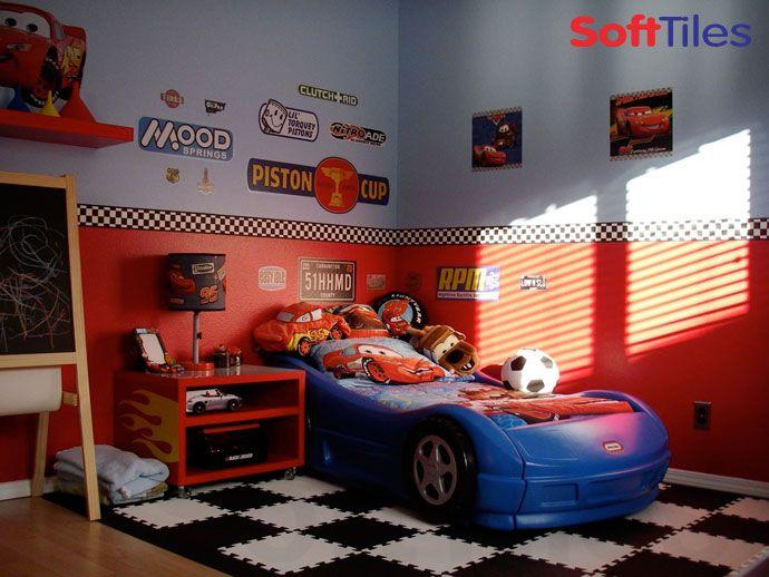 Racing Theme Bedroom Kid S Room Ideas Pinterest Car Themed