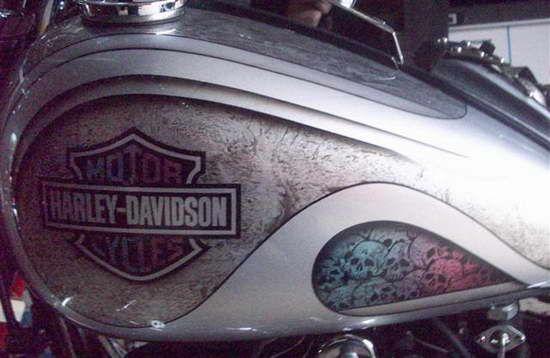Motorcycle Fuel Tank