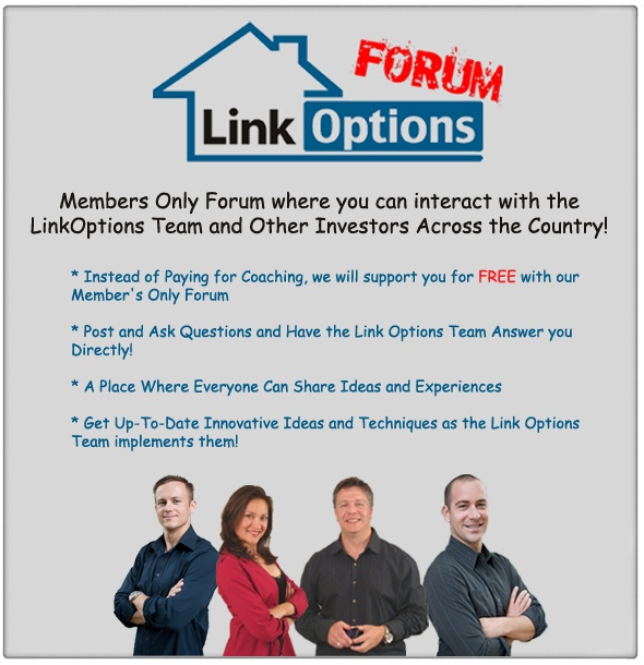Link Options | The new real estate business that ANYONE can build!
