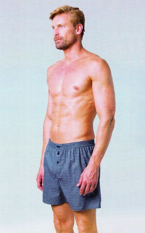 Boxer Guasch en tela de algodón 100% en tono azul, con un dibujo nuevo en forma de nudos. ENVÍO 24/48 h. Varelaintimo.com ropa interior para hombre.  http://www.varelaintimo.com/marca/9/guash