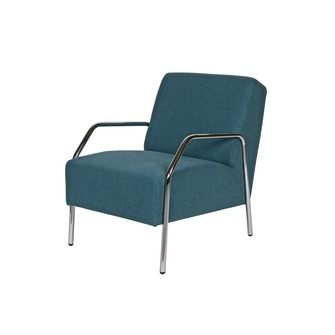 WOOOD fauteuil Cato petrol