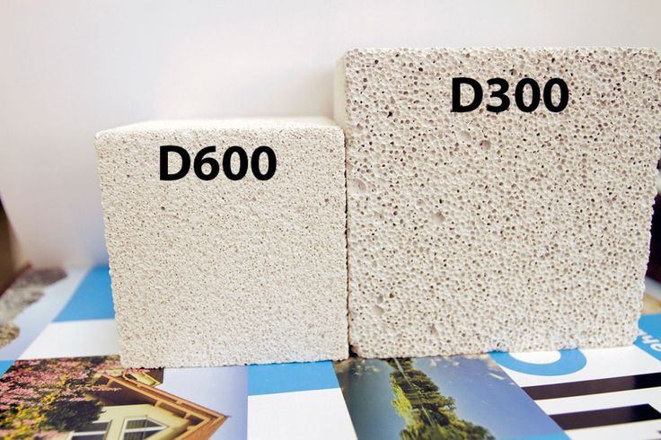 плотность газосиликатных блоков